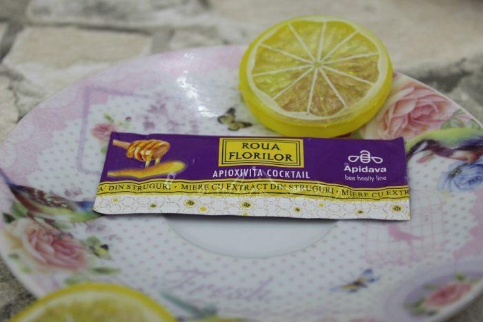 Apioxivita miere cu extract de struguri