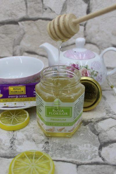 miere cu lăptișor de matcă de la Apidava