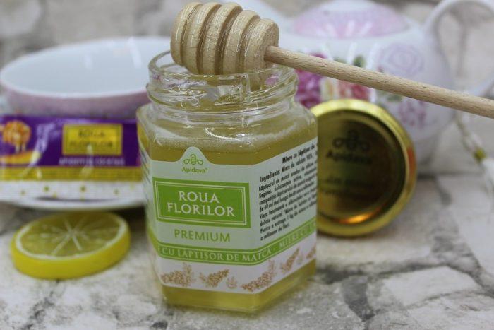 miere cu lăptișor de matcă de la Apidava pentru imunitate