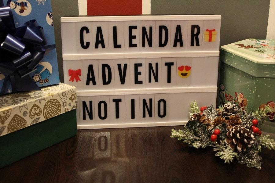 calendar de advent reduceri Notino