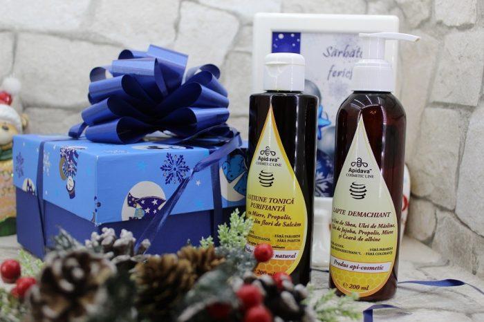 cosmetice apicole Apidava demachiant si lotiune tonica