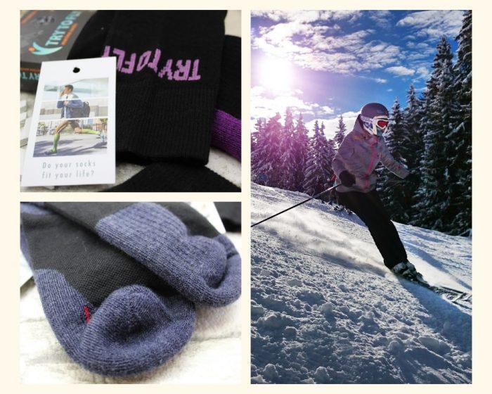 șosete de ski