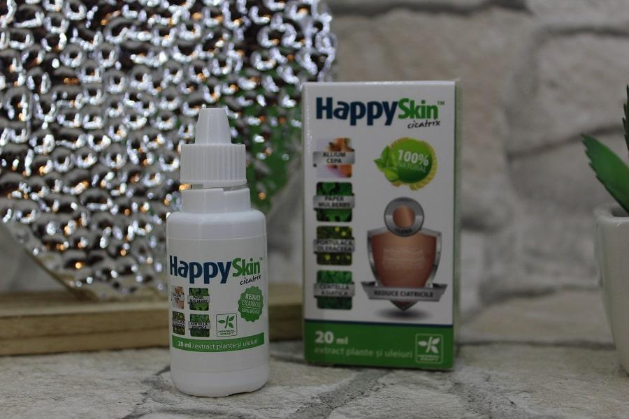HappySkin Cicatrix, soluție pentru reducerea cicatricilor și a petelor