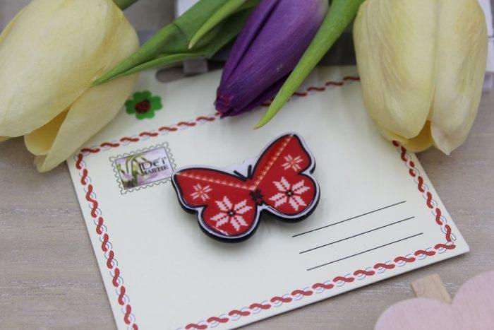 mărțișor broșă fluture