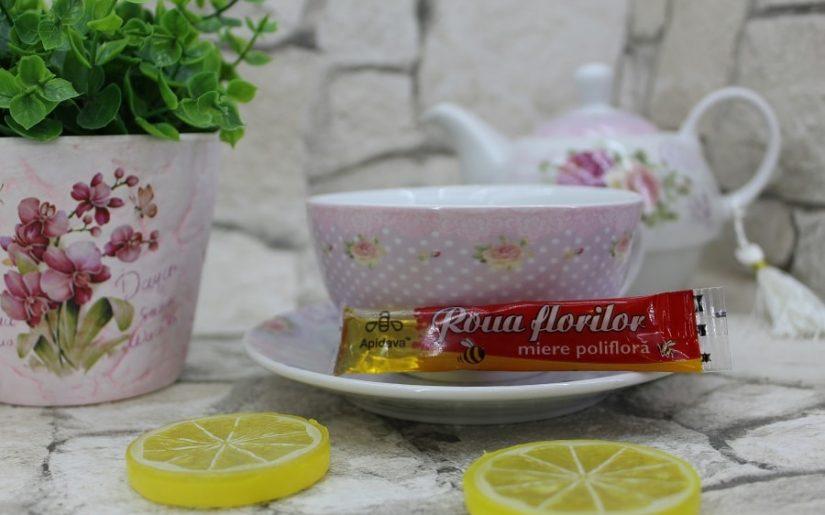 Ceai cu miere Apidava la plic