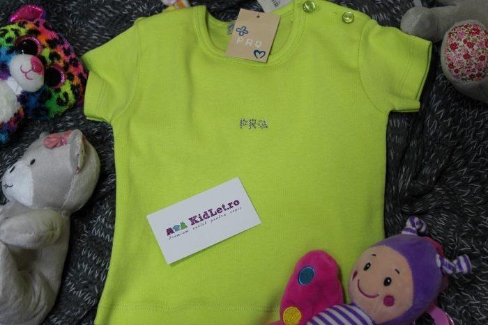 Tricou din bumbac pentru copii Kidlet.ro