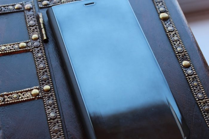 husă flip mirror Samsung Galaxy S8