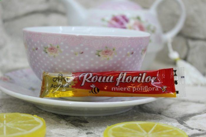 miere la plic pentru ceai