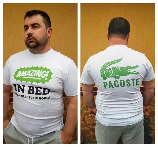 tricou personalizat haios