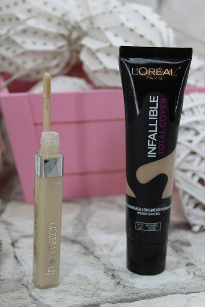 corector true match si fond de ten infallible total cover L'Oreal Paris