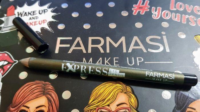 creion contur rezistent Farmasi Metalic Green
