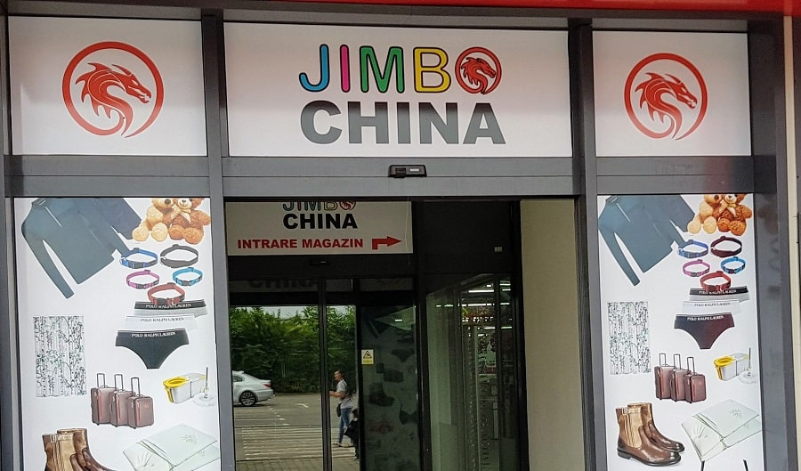 Jimbo China magazin