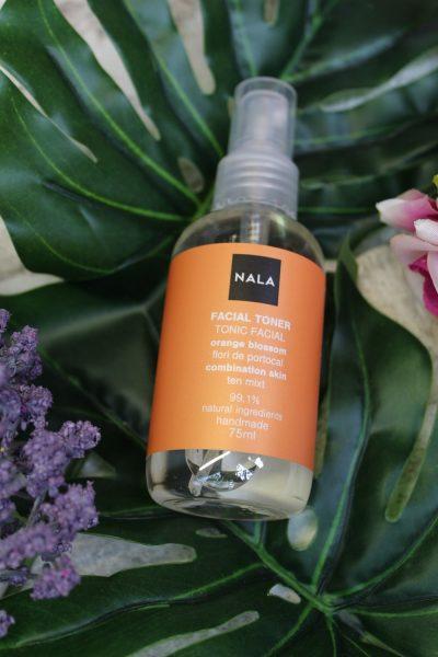 Tonic facial NALA cu flori de portocal