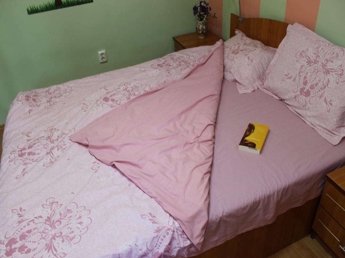 lenjerie de pat roz