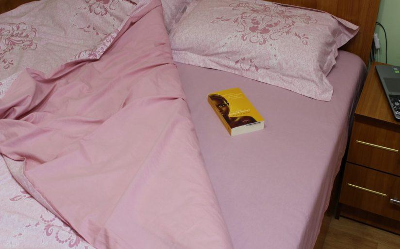 lenjerie de pat bumbac roz