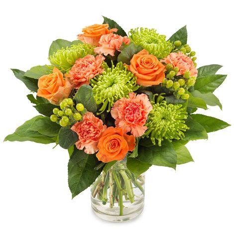 buchet-trandafiri-chrisantema-crizanteme-garoafe