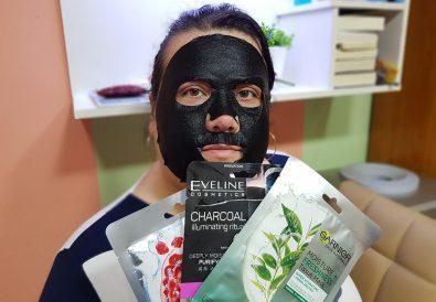 sheet mask Eveline masca faciala tip servetel