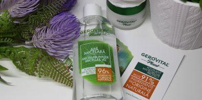 Apa micelară Microbiom Protect Gerovital Plant