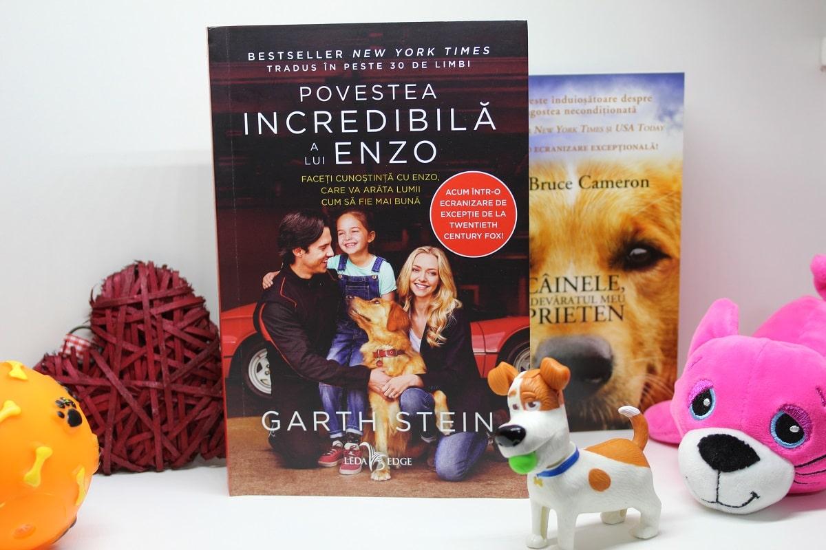 Povestea incredibilă a lui Enzo, Garth Stein