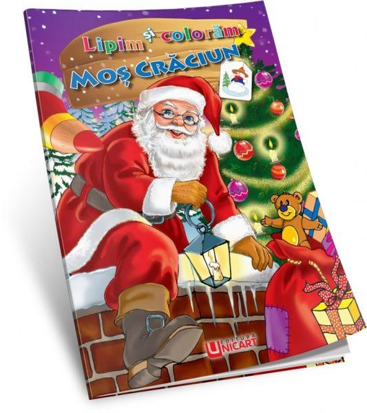 cărticica-Colorez-și-lipesc-Moș-Crăciun