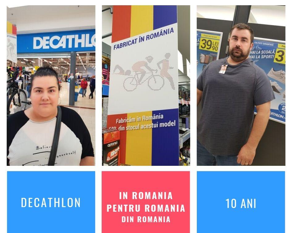 shopping Decathlon 10 ani