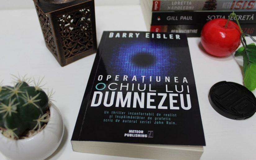 Operațiunea Ochiul lui Dumnezeu - Barry Eisler