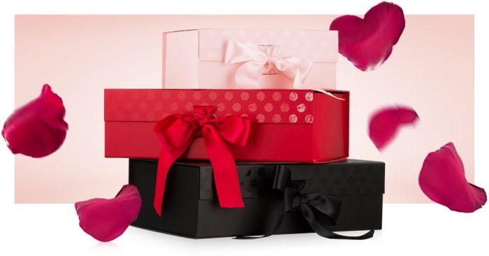 ambalare cadou Notino Valentine's Day