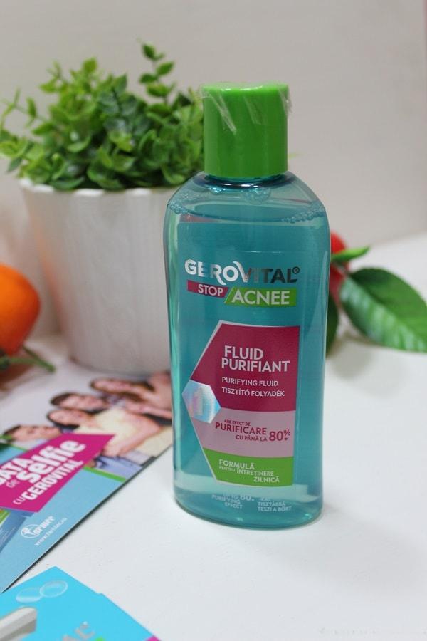 fluid purifiant Gerovital Stop Acnee