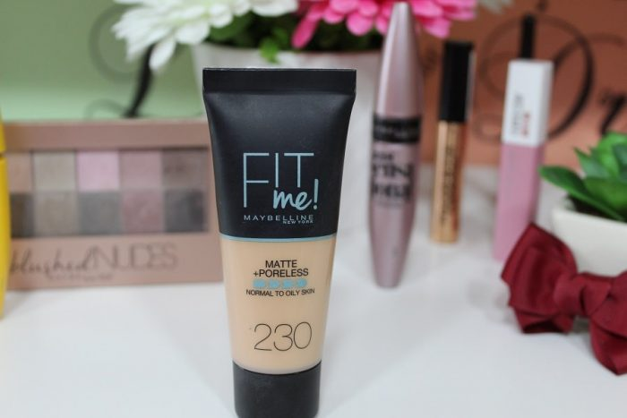 Fond de ten Maybelline Fit Me Poreless