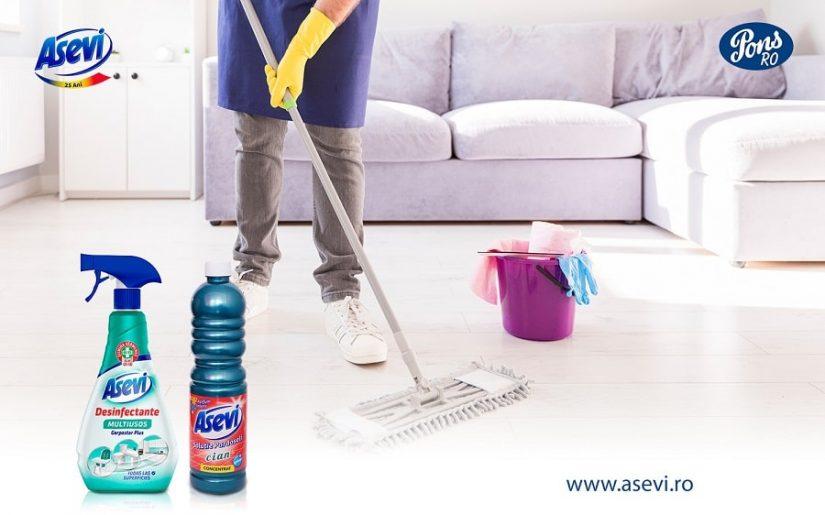dezinfectant_si_solutie_pardoseli-Asevi pentru igienizarea casei