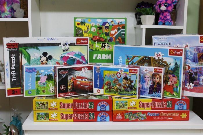 colectie puzzle copii