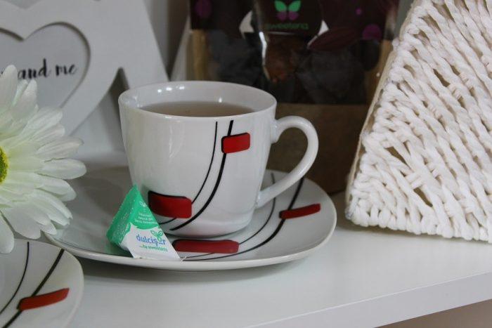 cana cu ceai verde