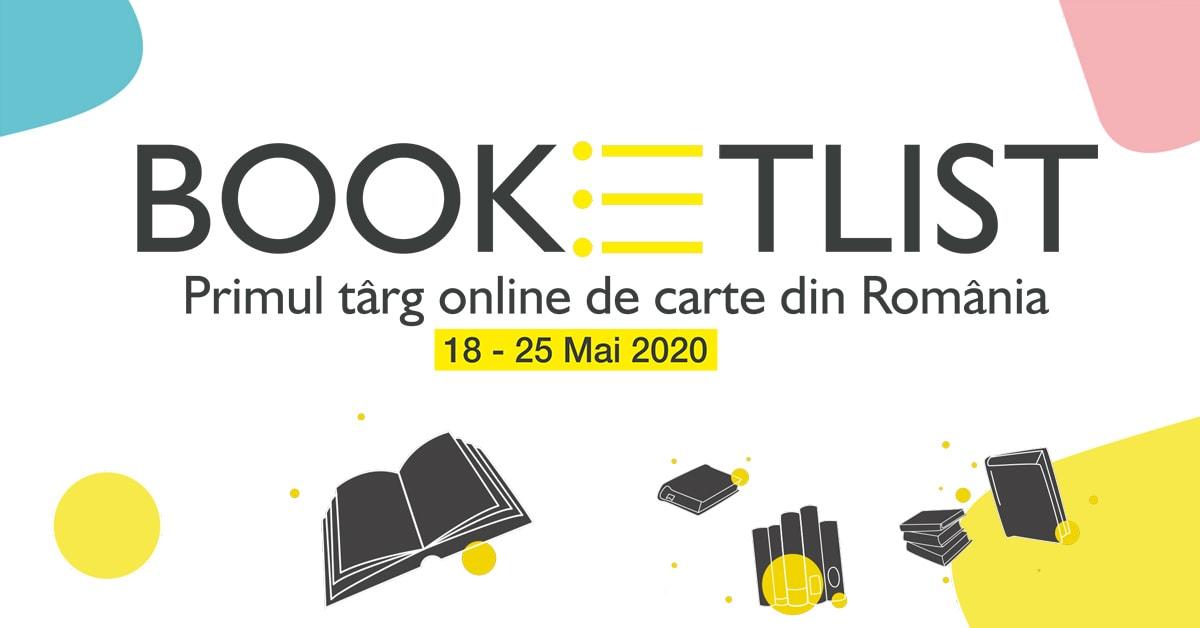 primul târg online de carte din România - Booketlist