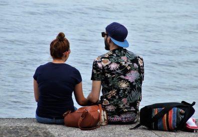 cuplu la plaja