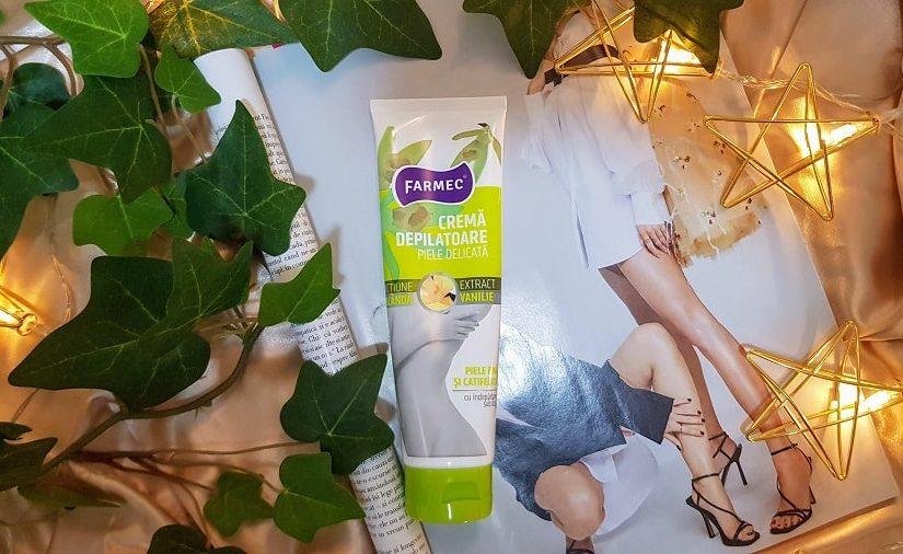 Crema depilatoare pentru piele sensibilă de la Farmec