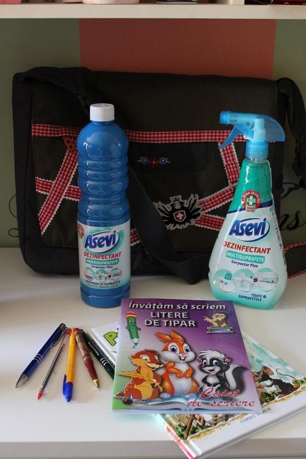 Gerpostar Plus dezinfectant suprafete Asevi