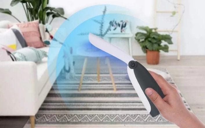 Sterilizator portabil cu lumina UVC
