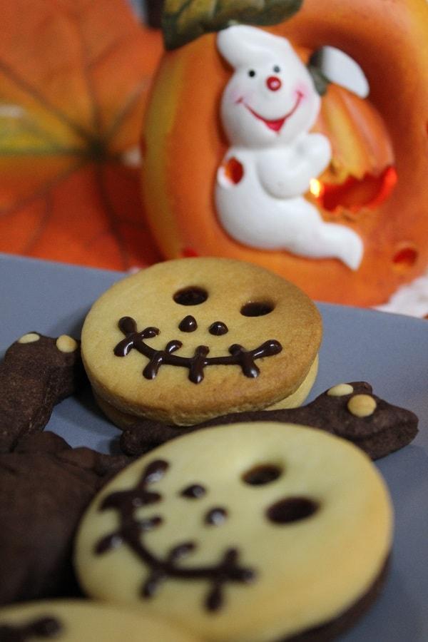 dulce de halloween biscuiți zombie