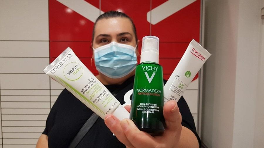 produse maskne - acneea provocată de mască