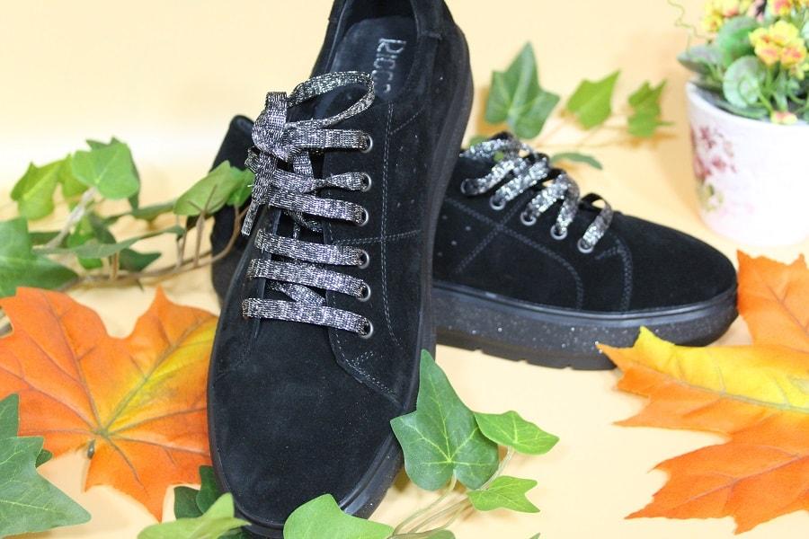 pantofi negri piele intoarsa