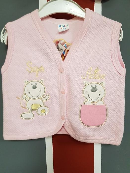 vestă roz copii