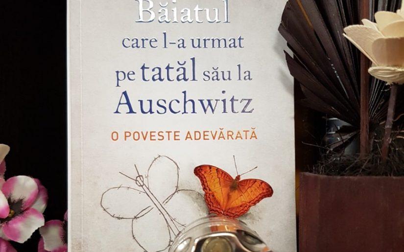 Băiatul care l-a urmat pe tatăl său la Auschwitz, Jeremy Dronfield - carte