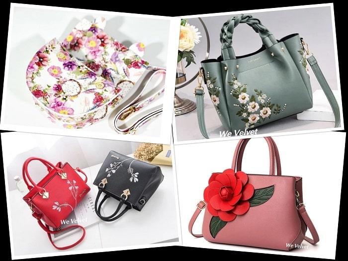 geanta florală