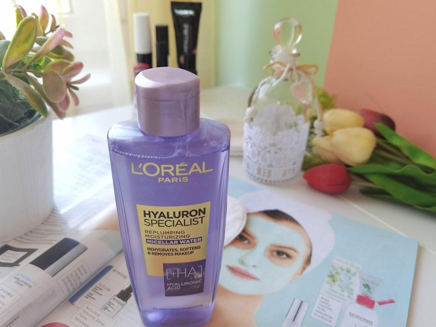 apă micelară cu acid hialuronic L'Oréal Paris Hyaluron Specialist