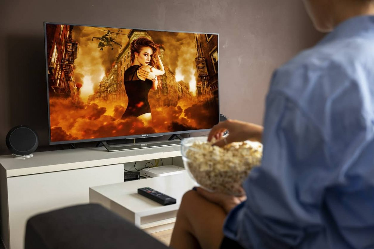 smart TV, film