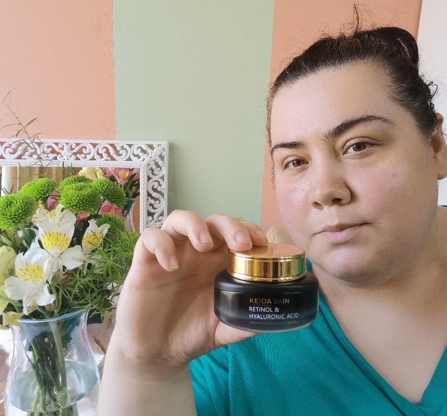 crema antirid de zi și noapte de la Keida Skin