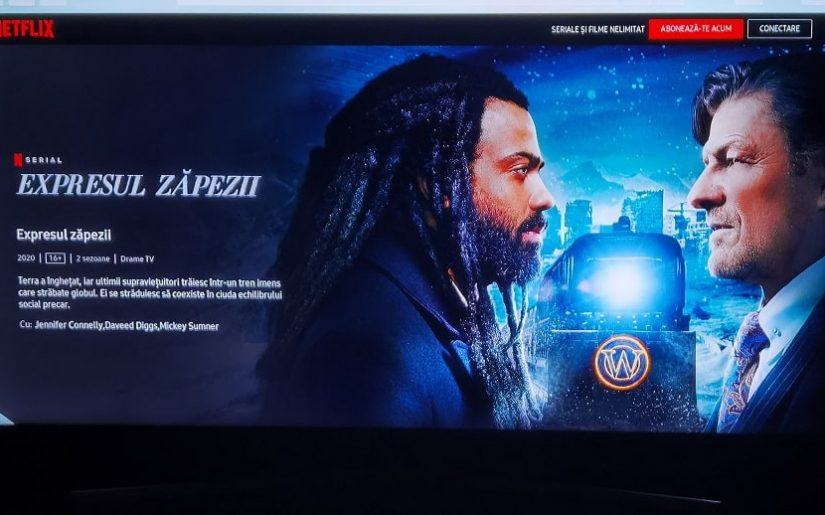 seriale netflix Expresul zapezii 2020