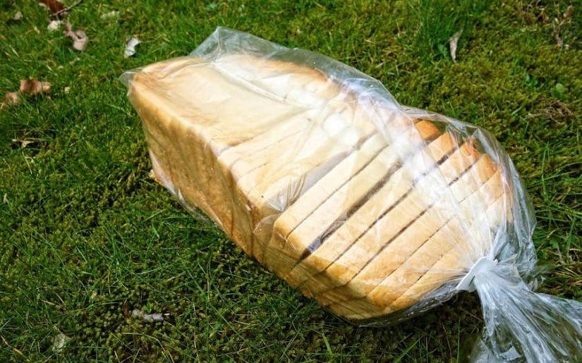 pâine feliată ambalaj din plastic
