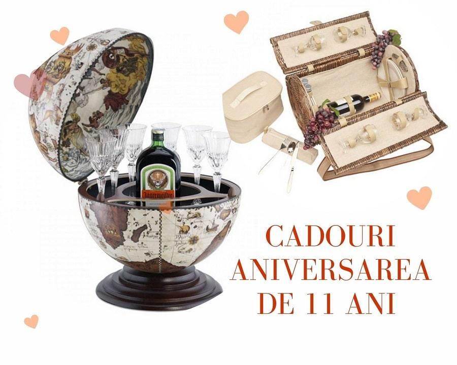 cadouri aniversarea căsătoriei bar glob pamântesc și coș de picnic
